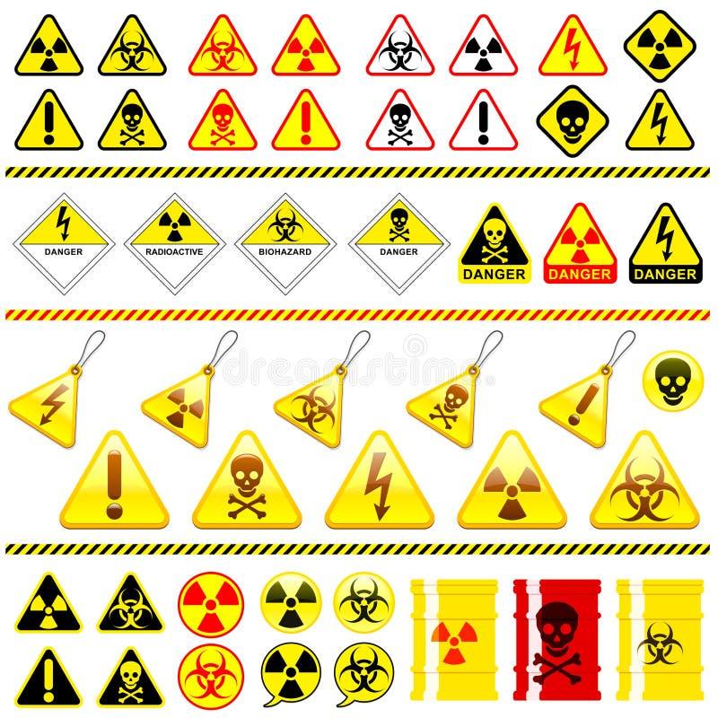 символ иконы опасности собрания огромный бесплатная иллюстрация
