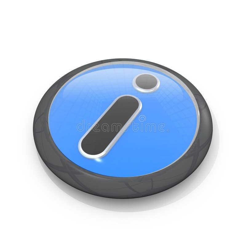 символ информации иллюстрация вектора
