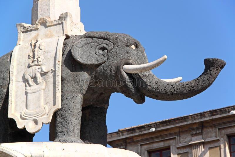 символ Италии слона catania стоковое фото
