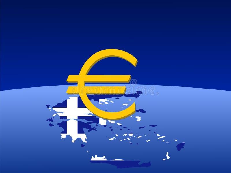 символ карты евро греческий бесплатная иллюстрация