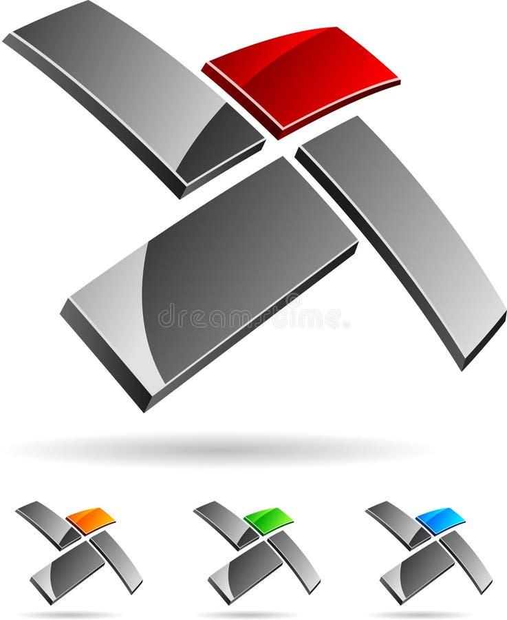 символ компании иллюстрация штока