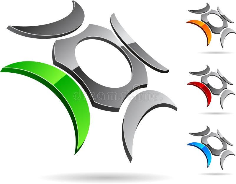 символ компании иллюстрация вектора
