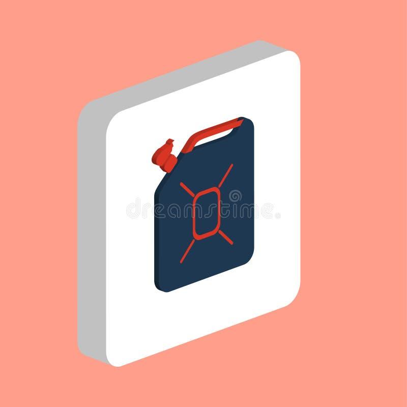 Символ компьютера масла канистры бесплатная иллюстрация