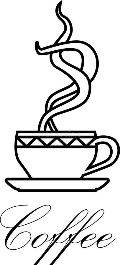 символ кофе Стоковое фото RF