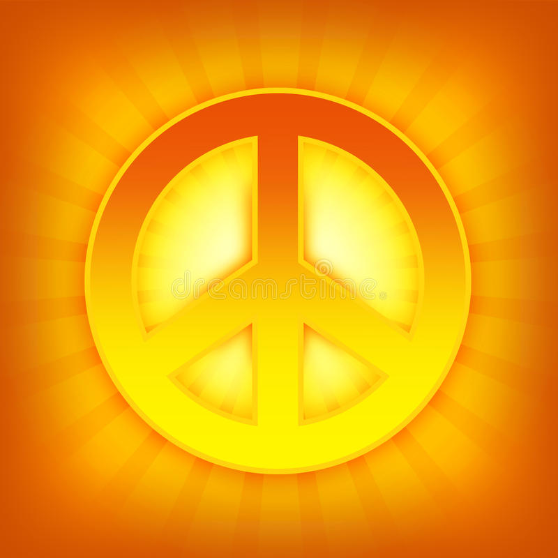 символ мира иллюстрация штока