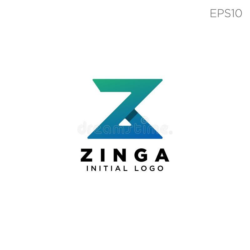 символ письма логотипа z или иллюстрация вектора значка изолировали иллюстрация вектора