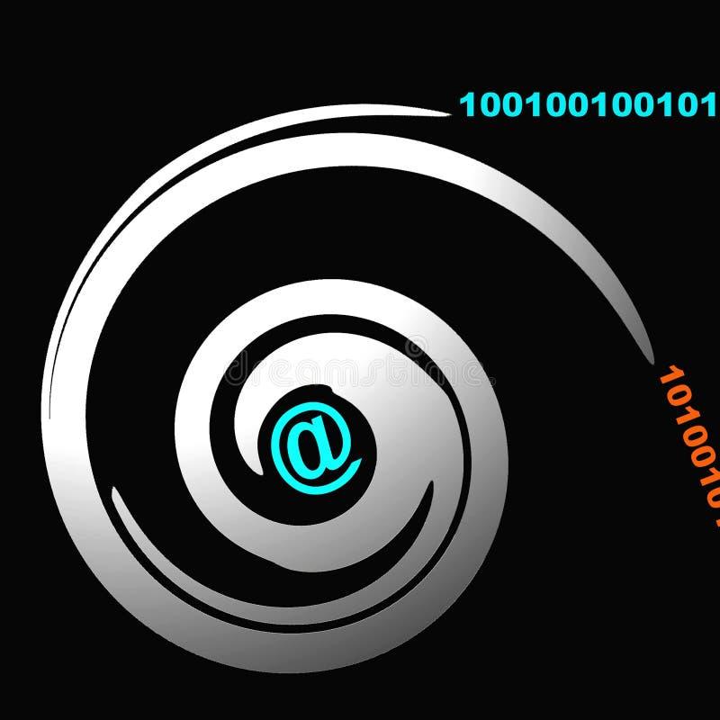 символ связи иллюстрация вектора