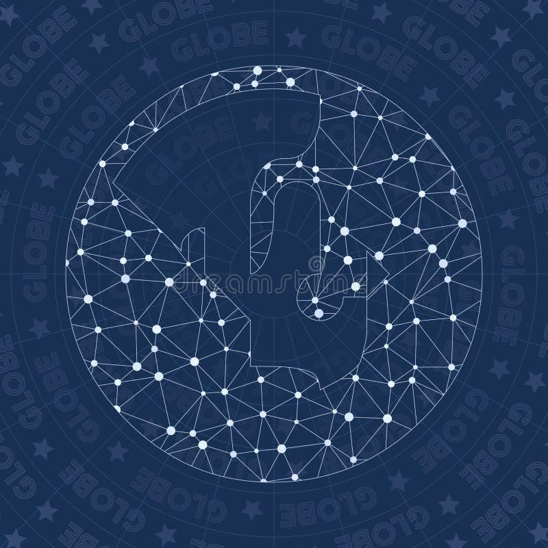 Символ сети глобуса бесплатная иллюстрация