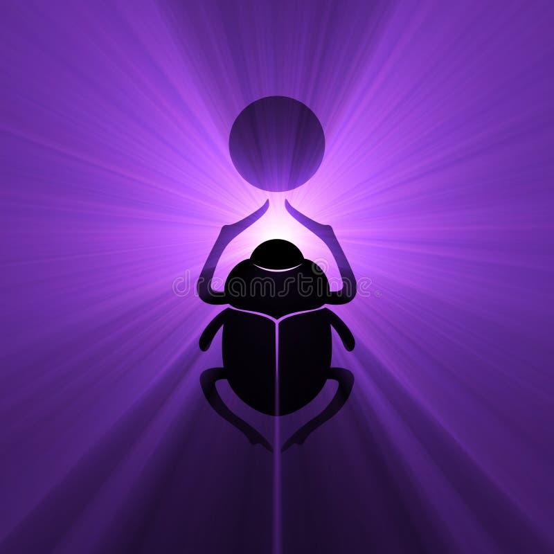 символ солнца скарабея пирофакела жука египетский бесплатная иллюстрация