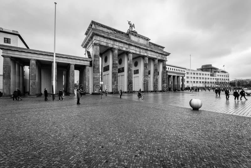 Символ строба Берлина - Бранденбурга стоковое изображение rf