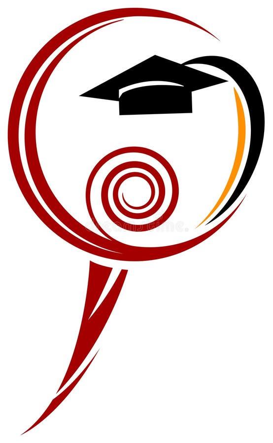 символ студента иллюстрация вектора
