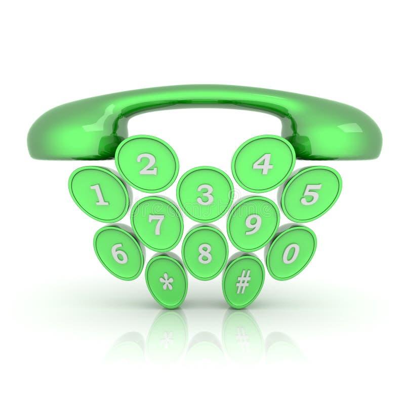 Символ телефона бесплатная иллюстрация