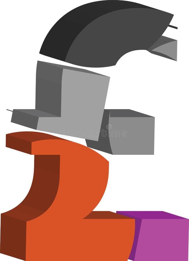 символ фунта 3d бесплатная иллюстрация