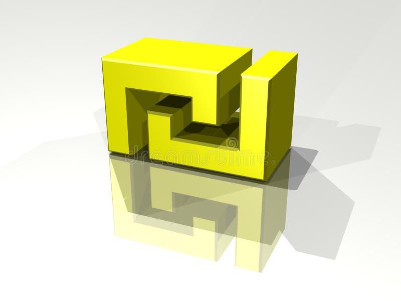 символ шекеля Стоковая Фотография