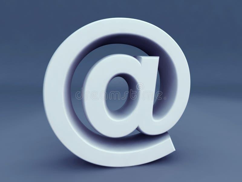 символ электронной почты псевдонима бесплатная иллюстрация