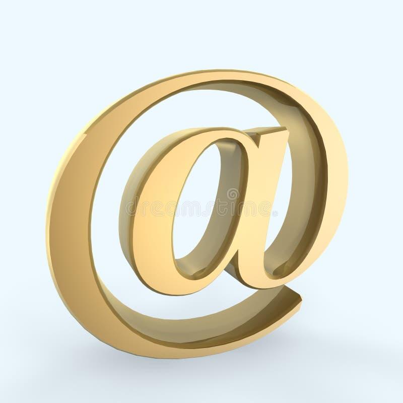 символ электронной почты иллюстрация штока