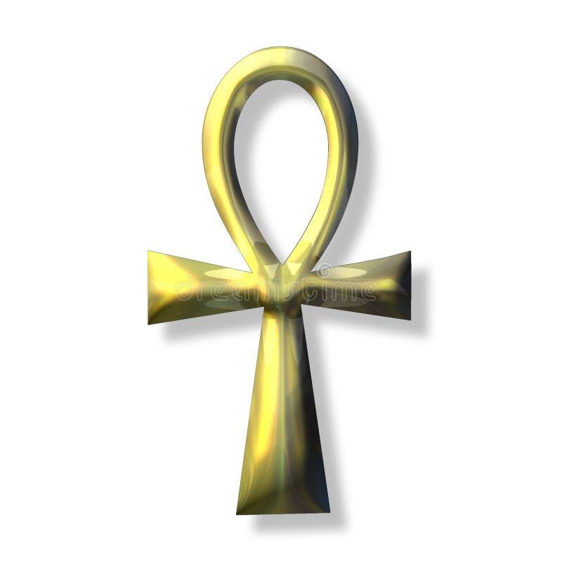символ ankh стоковые изображения
