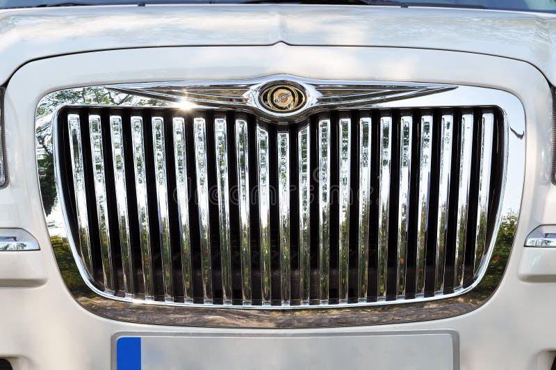 символ chrysler стоковая фотография rf