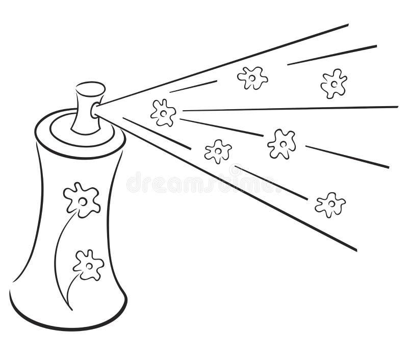 символ deodorant иллюстрация штока