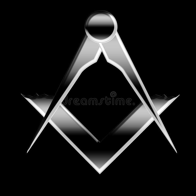 Символ Freemason иллюстрация штока