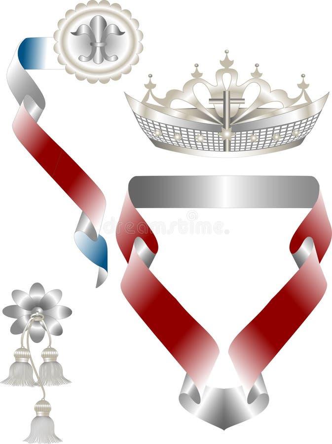 символ heraldry иллюстрация штока