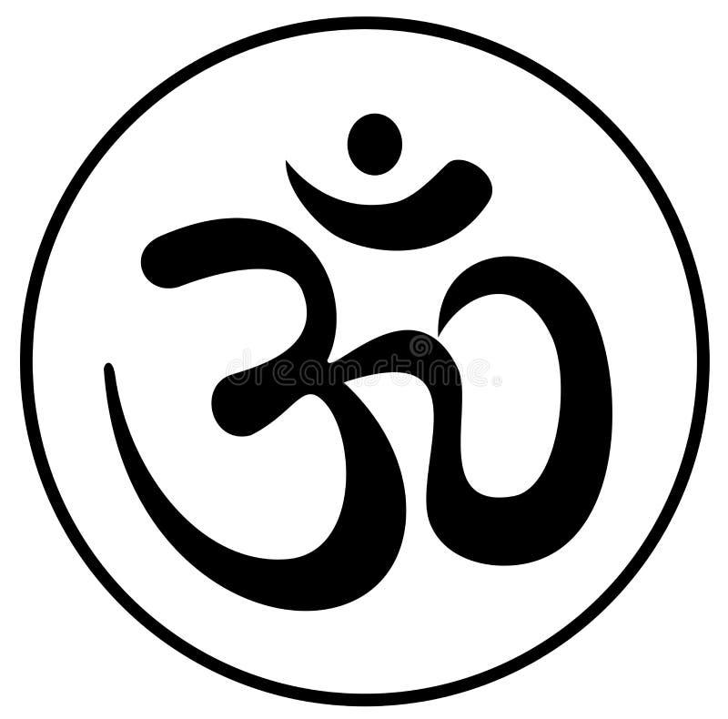 символ om иллюстрация вектора