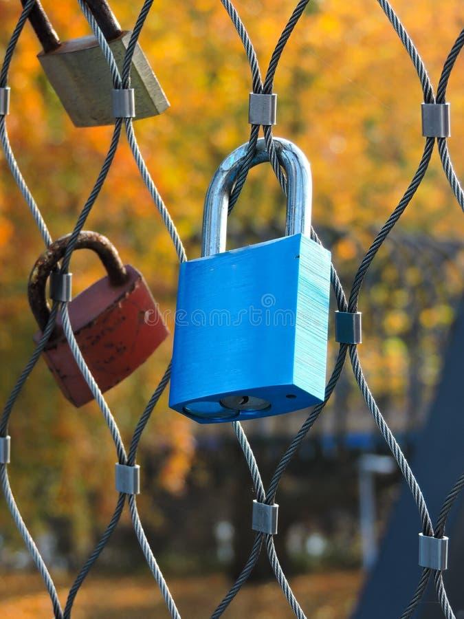 символ padlock любов стоковое фото
