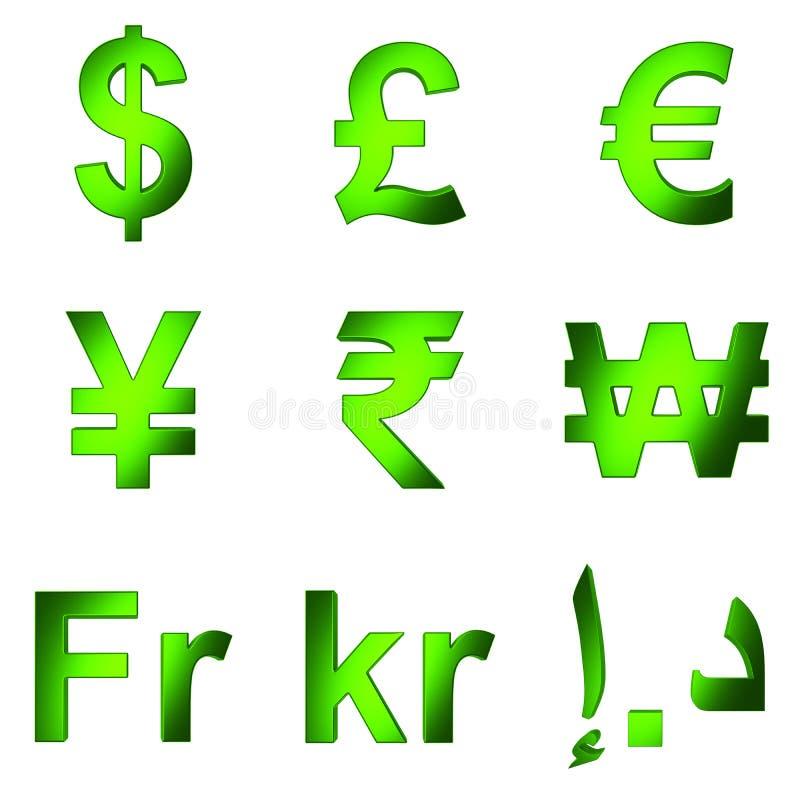 Download символ валюты 3D, зеленеет Satined Matterial, предпосылка PNG прозрачная Стоковое Фото - иллюстрации насчитывающей роскошь, бухгалтеров: 40589310