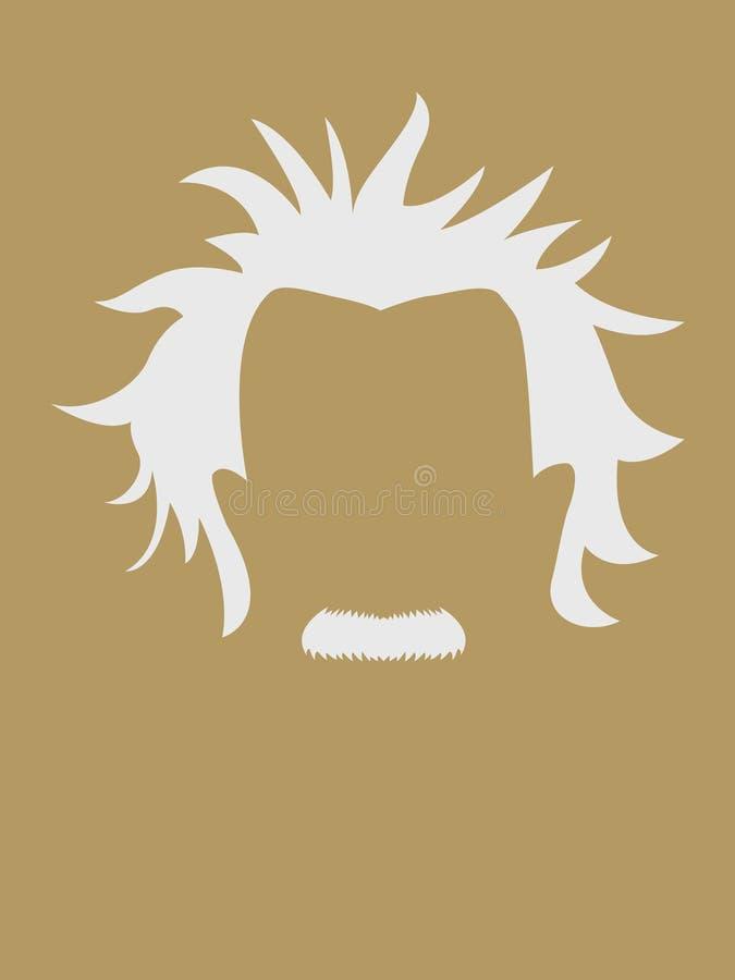 Символ волос и усика человека бесплатная иллюстрация