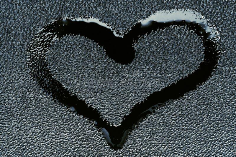 Символ влюбленности в форме сердца стоковая фотография rf