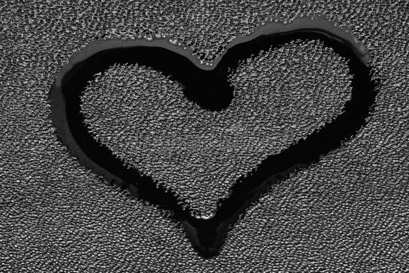 Символ влюбленности - сердца стоковое изображение rf