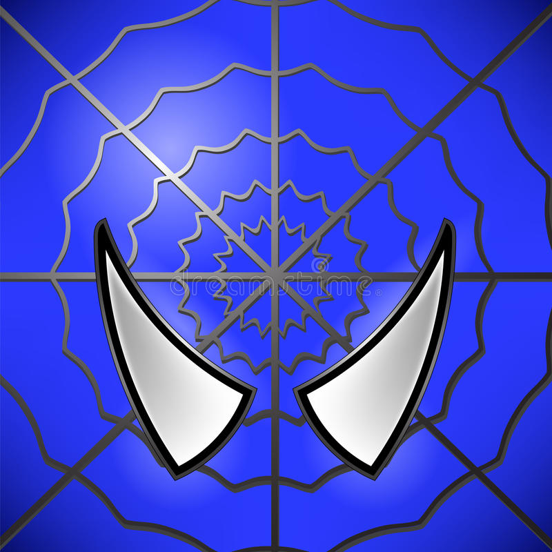 Символ героя иллюстрация вектора