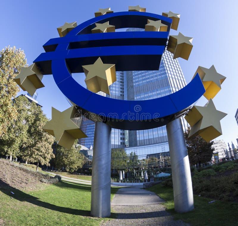 Символ евро стоковые фото