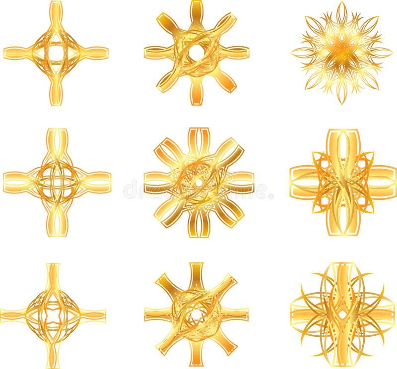 Символ звезды золота иллюстрация штока