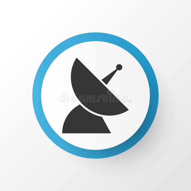 Символ значка антенны связи Наградным элемент изолированный качеством спутниковый в ультрамодном стиле бесплатная иллюстрация