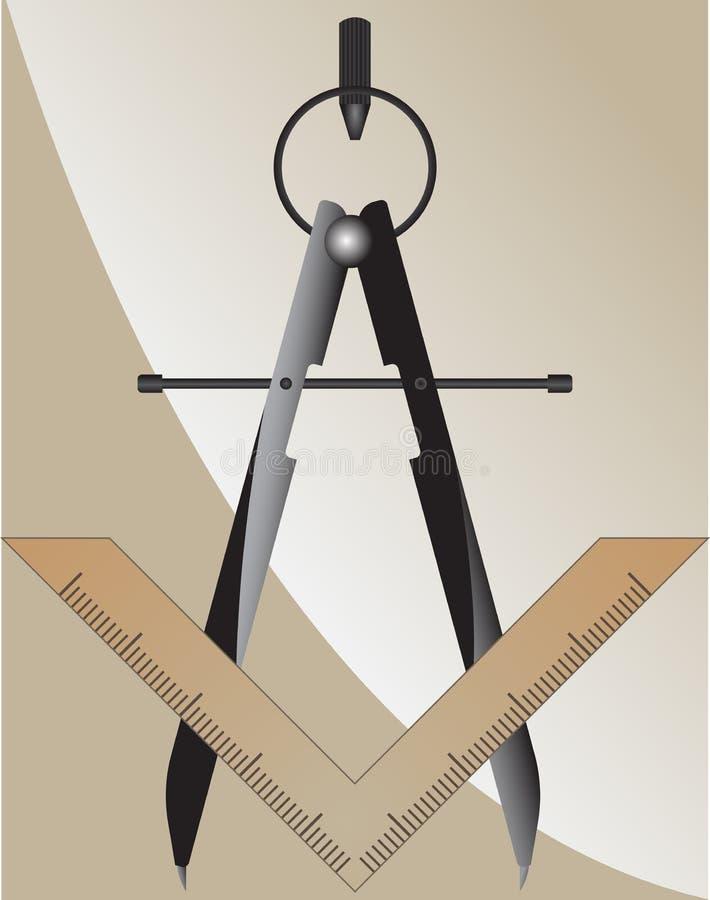 Символ масонства бесплатная иллюстрация