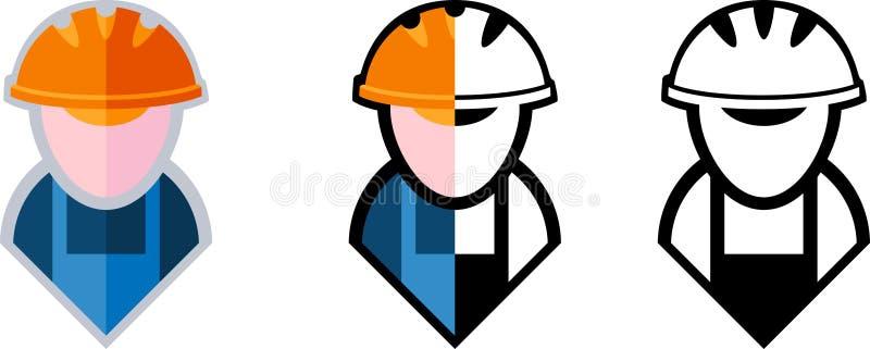 Символ построителя иллюстрация вектора
