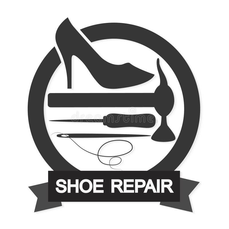 Символ ремонта ботинка бесплатная иллюстрация