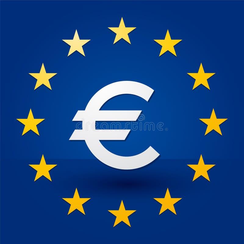 символ серии иллюстраций евро пламенистый бесплатная иллюстрация