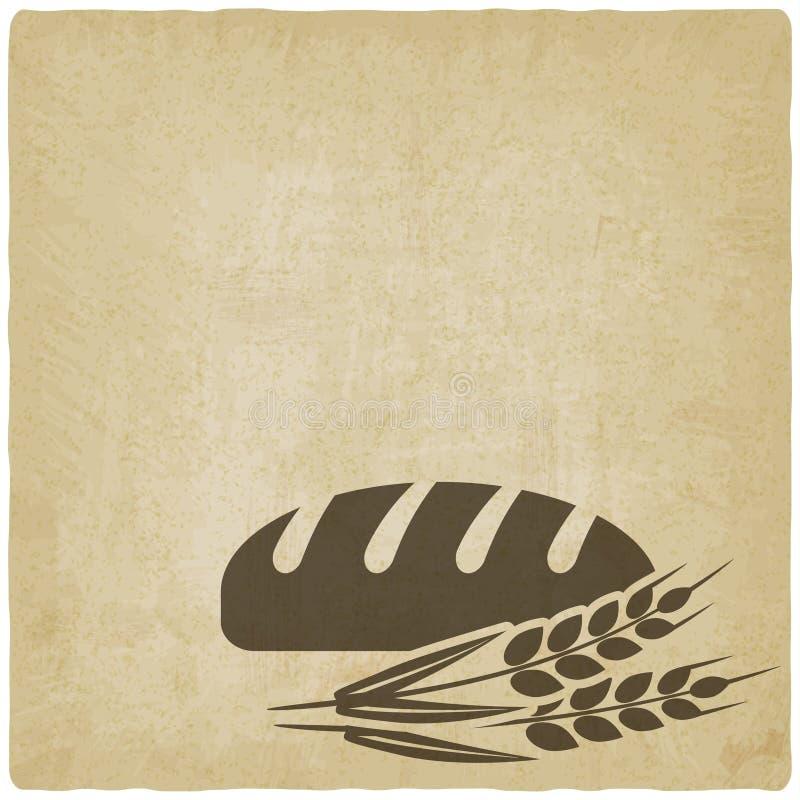 Символ хлебопекарни хлеба бесплатная иллюстрация