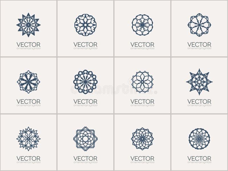Символы вектора геометрические бесплатная иллюстрация