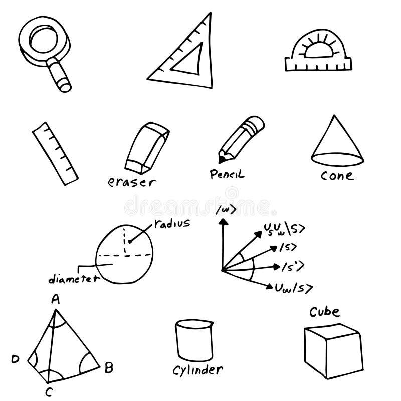 Символы геометрии бесплатная иллюстрация