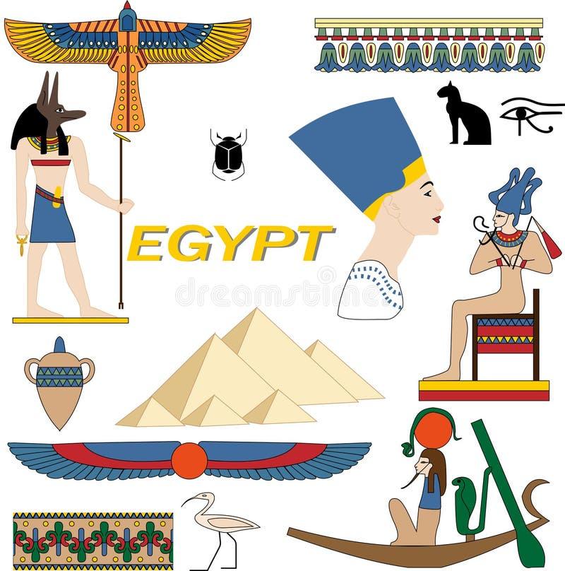 символы Египета бесплатная иллюстрация