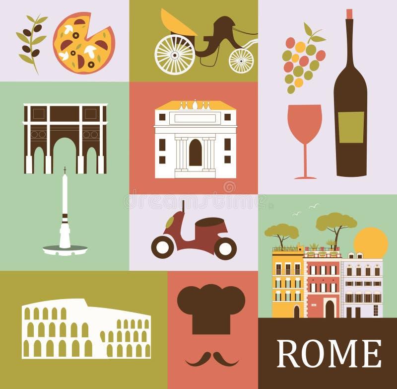 Символы Рим бесплатная иллюстрация