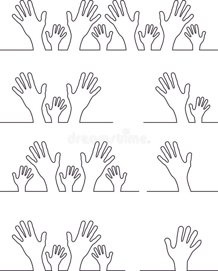 Символы руки бесплатная иллюстрация