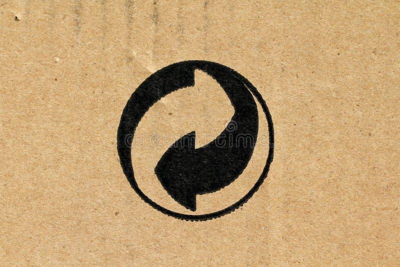Символ - Эко-упаковывающ стоковое изображение