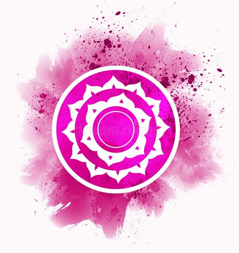 Символ chakra Sahasrara бесплатная иллюстрация