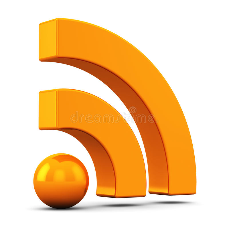 Символ RSS бесплатная иллюстрация