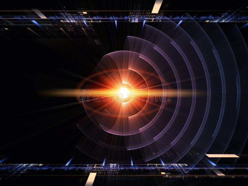 Симметрия энергии иллюстрация штока