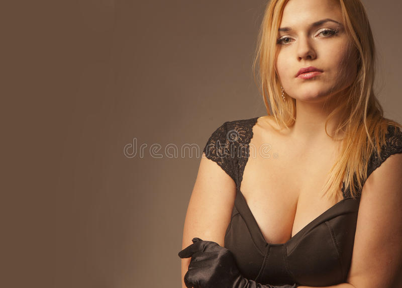 симпатичная женщина портрета стоковое фото